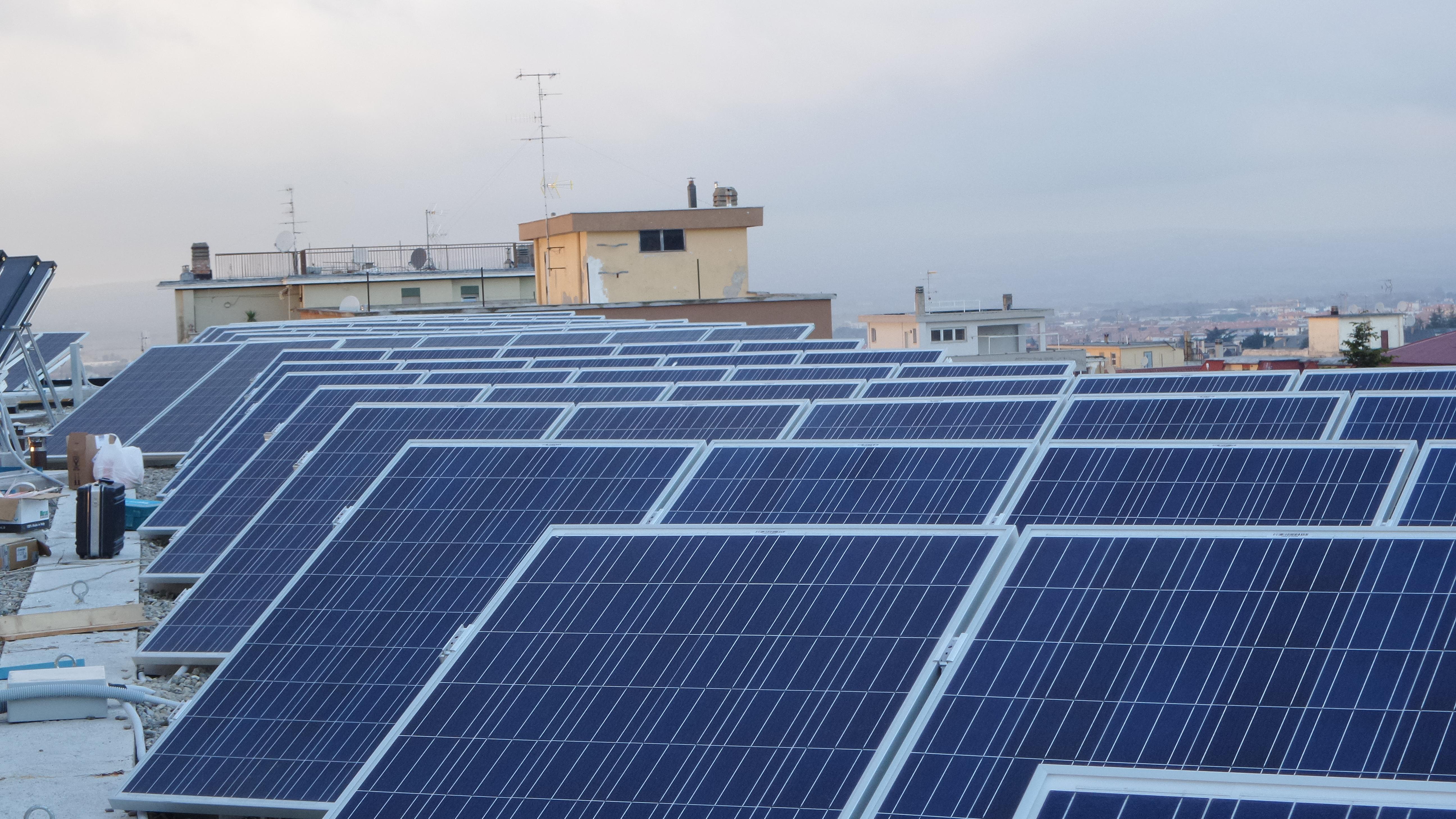 impianti fotovoltaici 15 Kw saggini viterbo