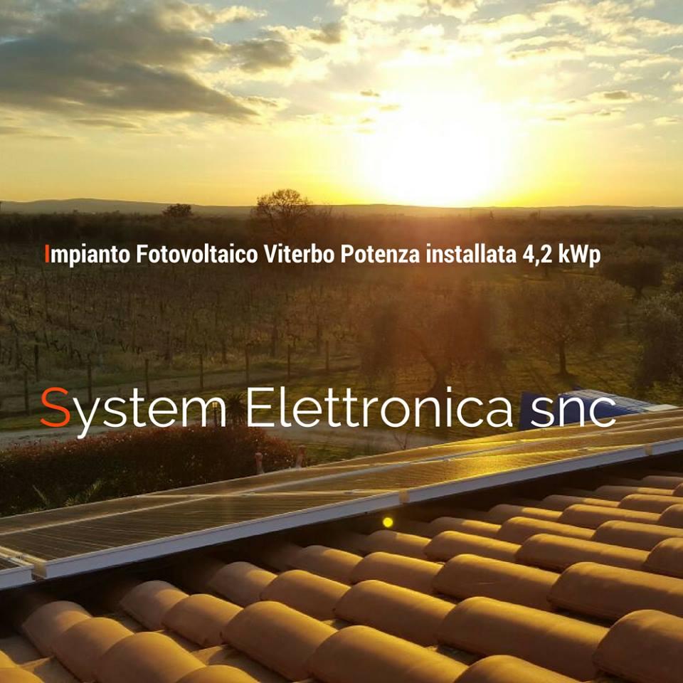 Fotovoltaico Viterbo 4,2kw 1