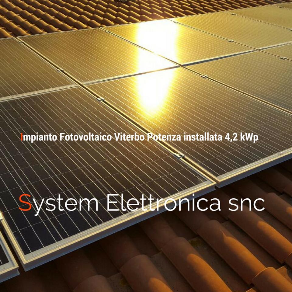 Fotovoltaico viterbo 4,2 kw 2