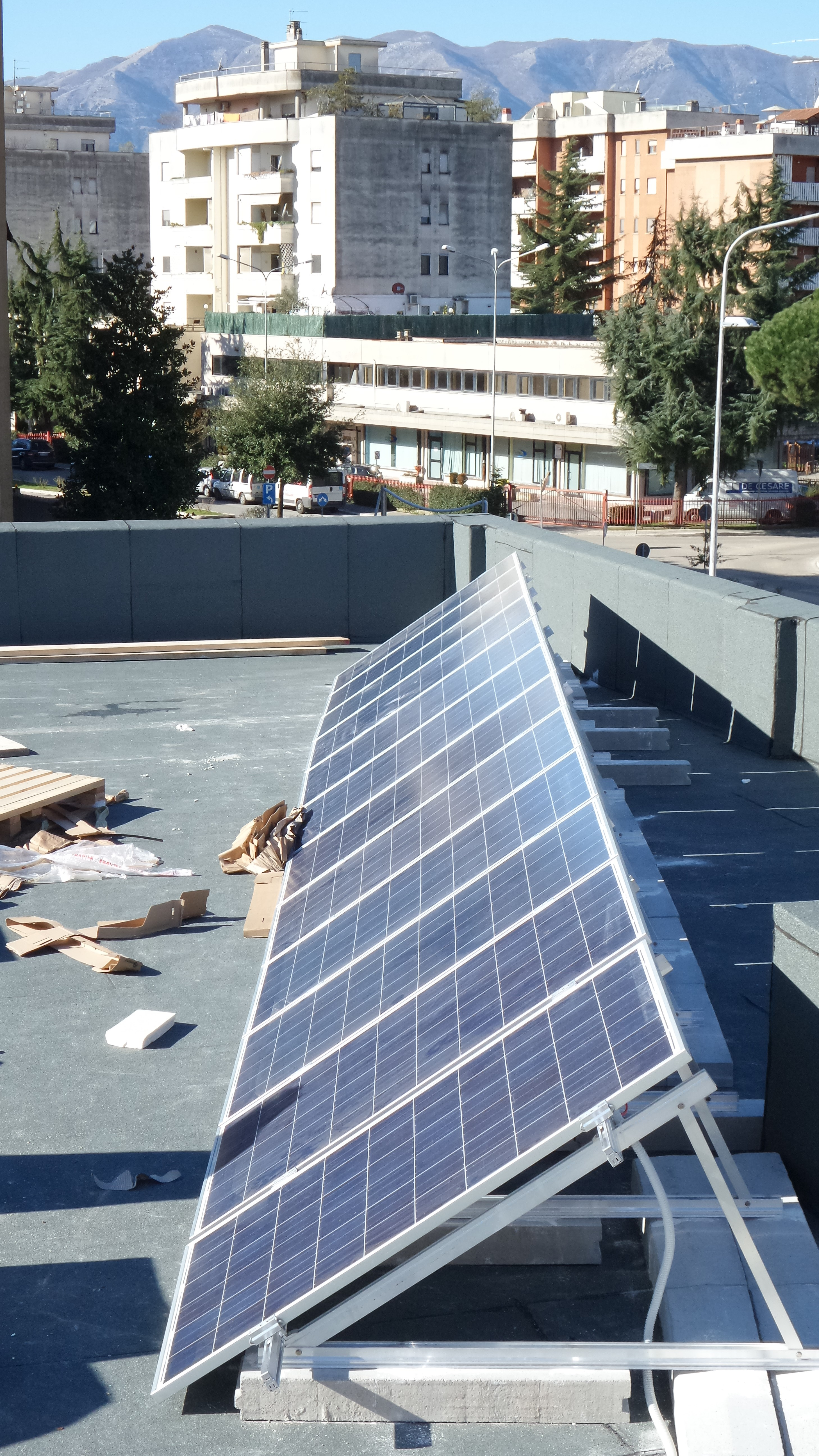 Impianto fotovoltaico Frosinone 6 Kw