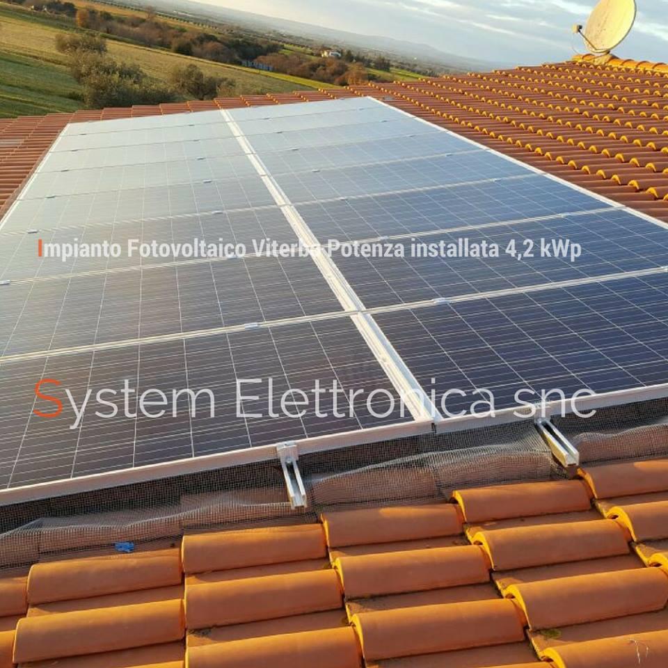 fotovoltaico viterbo 4,2 kw 4
