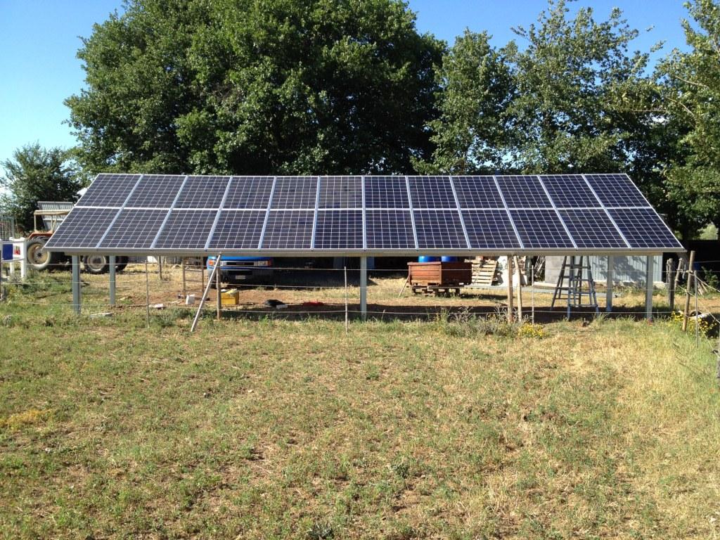 Impianto fotovoltaico sipicciano 6 kWp