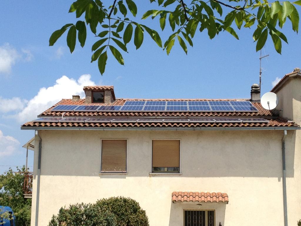 Corchiano impianto fotovoltaico 6 kWp