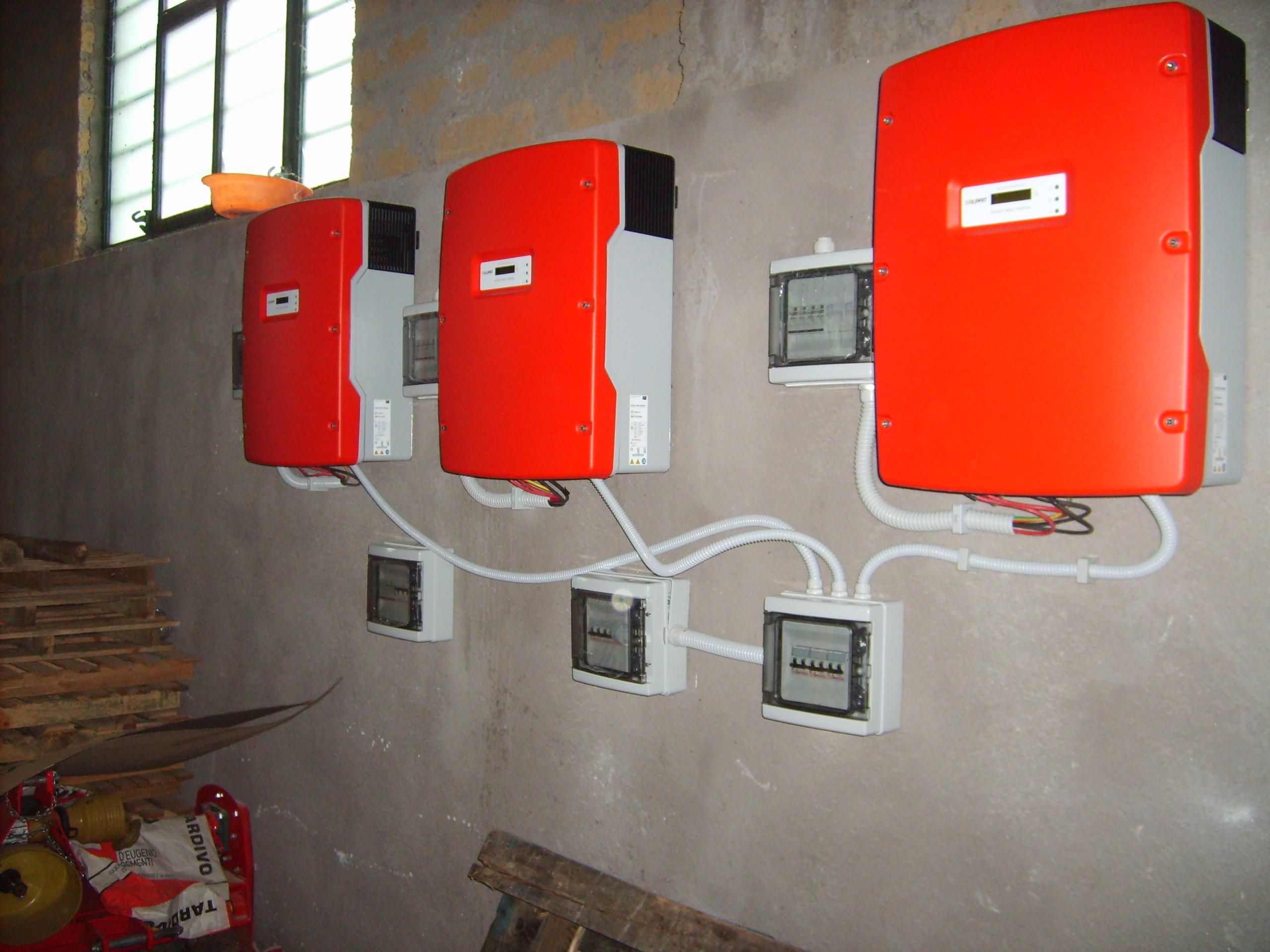 Fotovoltaico Tuscania Inverter sma