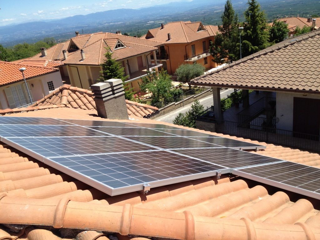 Caprarola impianto fotovoltaico 3kWp