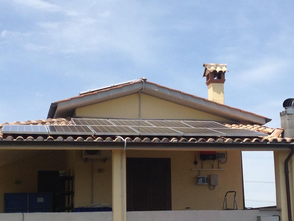 Monterosi impianto fotovoltaico 10 kWp