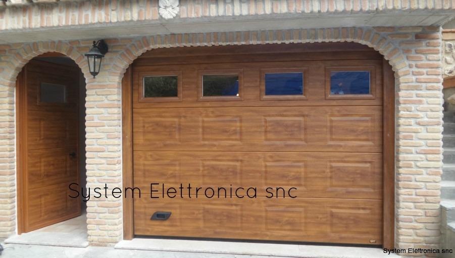 porta sezionale da garage tolfa Roma