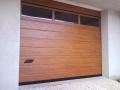 finto legno dogato porte sezionali con sezione finestrata capranica viterbo