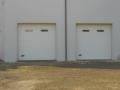 porta sezionale bianca con oblò Caprarola viterbo