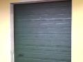 porta sezionale colore verde