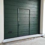 Porta sezionale con porta pedonale Canepina viterbo