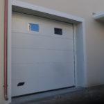 Porta sezionale da garage Caprarola viterbo