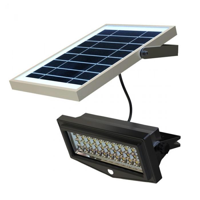 Faretto a energia solare a led con sensore di movimento