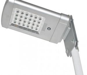 lampione ad energia solare per viali e parchi
