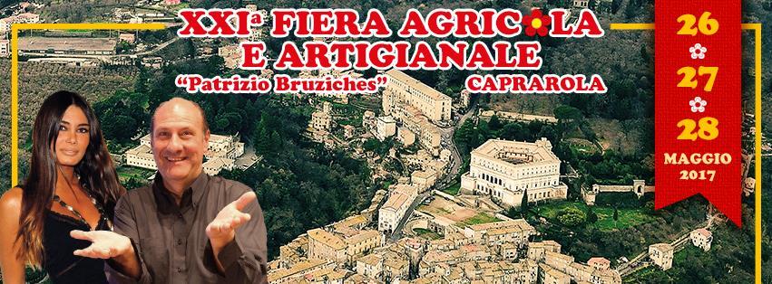"""XXI^ fiera Agricola e Artigianale """"Patrizio Bruziches"""" Caprarola"""