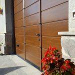 installazione porta finto legno a caprarola