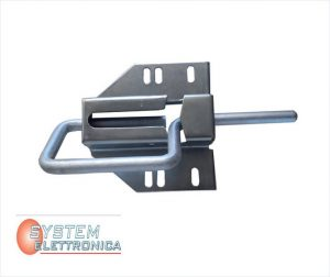 chiavistello a chiusura laterale in alluminio