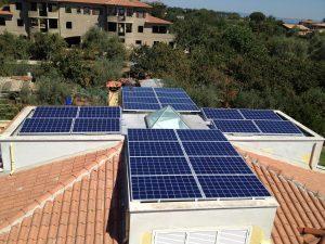 installazione impianto fotovoltaico su terrazzo a vignanello