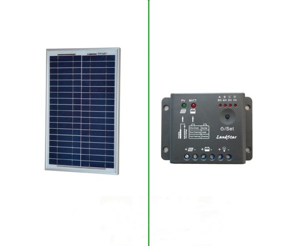 kit fotovoltaico 20 watt