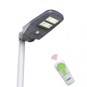 lampione solare con sensore di movimento
