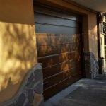 porta da garage finto legno