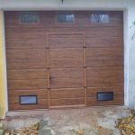 porta garage coibentata sezionale allumiere