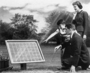 storia del fotovoltaico